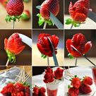 Strawberry Roses