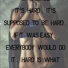 Hard To