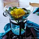 Floating Flower Centerpieces