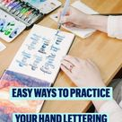 easy ideas to practice your hand lettering