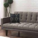 Brayden Studio Daleyza Indoor/Outdoor Geometric Throw Pillow Black 18.0 x 18.0 in   Wayfair Canada