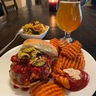 Get in my belly… ❤️🔥🌶🍔🍻 - Dining and Cooking