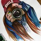▷ 1001 + images pour le dessin fille parfait   des idées pour développer son créativité