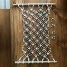 The Original Macrame Fruit Hammock, Hanging Fruit Basket