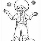 Zirkus - kostenlose Malvorlagen und Ausmalbilder für Kinder
