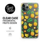 Fruits case Pattern Gift for her Transparent Clear Ruber iPhone 13 iPhone 11 iPhone 12 iPhone XR iPhone 8 iPhone SE phone case