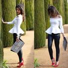 Black White Outfits