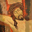 Jean Abadie, Jésus meurt sur la croix...