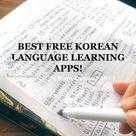 Apps for learning Korean!