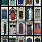 Paris Photography Spring in Montmartre blue shutters   Etsy