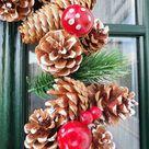 Snowman wreath, front door decorations, rustic decor, xmas wreath, Christmas wreath,snowman decor,pine cone wreath, door decoration, wreath