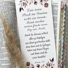 Christian Bookmark Joshua 1:8