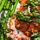 Blackened Salmon Sheet Pan with Asparagus and…   The Modern Proper
