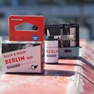 Lomography Berlin 400 35mm Black & White Kino Film Roll with 36 photos - Process before August 2022