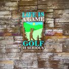 Excited to share this item from my #etsy shop: Golf Sign, Golf Wall Sign, Father's Day Gift, Golf Gift For Men, Golf Gift, Golf Decor, Golf Wall Art, Golf Gift, Man Cave Sign, Golf Lover #golfsign #golfwallsign #fathersday #fathersdaygift #golfgiftformen #golfgifts #golflover #mancavesign #golfdecor