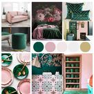 Interior Trends to Try – Pink and Green Should Always Be Seen - Melanie Jade Design