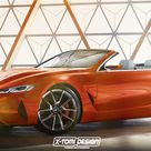 BMW 8 Series Concept Already Rendered in Convertible Guise