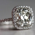 Cushion Cut Engagement