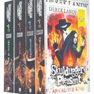 Skulduggery Pleasant book Series 10-13 Collection 5 Book Set Inc Apocalypse Kings