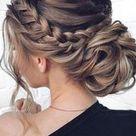 Stunning Low Bun Updo Wedding Hairstyles From Tonyastylist ~ modifikationcar.com   Hair Styles Blog 2019