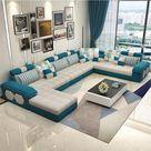New Velvet hanf linen hemp fabric sectional sofas  Living Room Sofa set furniture
