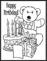 Birthday Color Me Cards