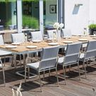 12-Personen-Gartentisch
