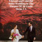 Vibrant and Colorful Boho Wedding at The Harper OC in Costa Mesa, CA