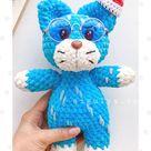 Crochet snow leopard pattern Crochet cheetah Crochet | Etsy
