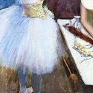 Dancer in Her Dressing Room, c.1879 - Edgar Degas - WikiArt.org