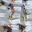 Prettiest Spring Wedding Ideas 2020 - wedding escort cards ideas