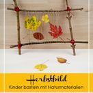 Herbstgesteck aus Naturmaterialien weben