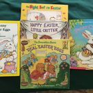 Easter Story Books For Children Happy Easter Little Critter Peter Cottontail The Night Before Easter The Big Bunny the Real Easter Eggs