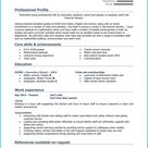 Student CV template + 10 CV examples [Get hired quick]
