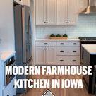 Modern Farmhouse Kitchen in Iowa
