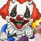 Character Design Session: Creepy Clown Child - YouTube