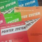 Lot of 8 Vintage 1950s, & 60s The Pointer System - Learn How to Play the Hammond Organ Books