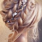 39 The most romantic wedding hair dos to get an elegant look - Braied updo
