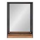 Claretta Modern & Contemporary Beveled Accent Mirror