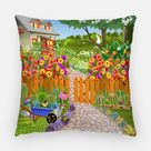 Perpetual Spring Outdoor Pillow - 16x16 Inch
