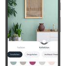 Virtuelle Farbe für die Wand   Per App die spätere Wirkung testen