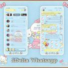 Hello Kitty Cute Theme For YOWhatsApp & Delta WhatsApp By CMF