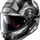 X-Lite X-1004 Dedalon N-Com flip flup helmet - Matt Black/Grey - S