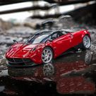 Willie 1:24 Pagani adult sports car model - Red