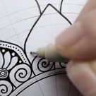 mandala pattern, mandala process, mandala pattern video, mandala tutorial, pattern tutorial