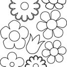 Print & Download   Some Common Variations of the Flower Coloring Pages