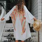 ARCHANGEL GABRIEL Angel Wing Everyday Kimono