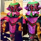 Top 10 Most Stylish And Creative Ankara Skirt And Blouse Styles For Wedding;55 styles to check out