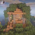 Fairy TreeHouse Minecraft ? Tutorial on youtube, link in my bio