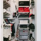 How To Organize Your Messy, Crowded Closet